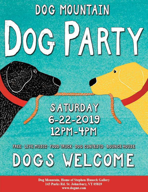 Founders Celebration Dog Party Poster 2019