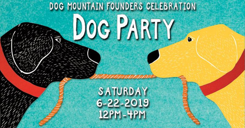 Founders Celebration Dog Party