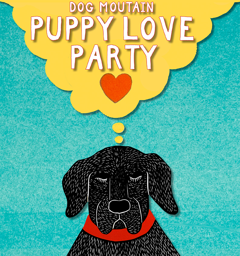 Puppy Love Party poster 2020