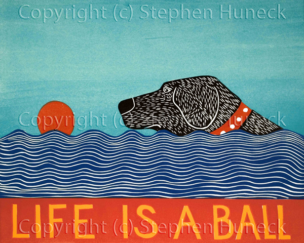 Life is a Ball Print