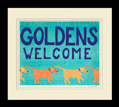 Goldens Welcome