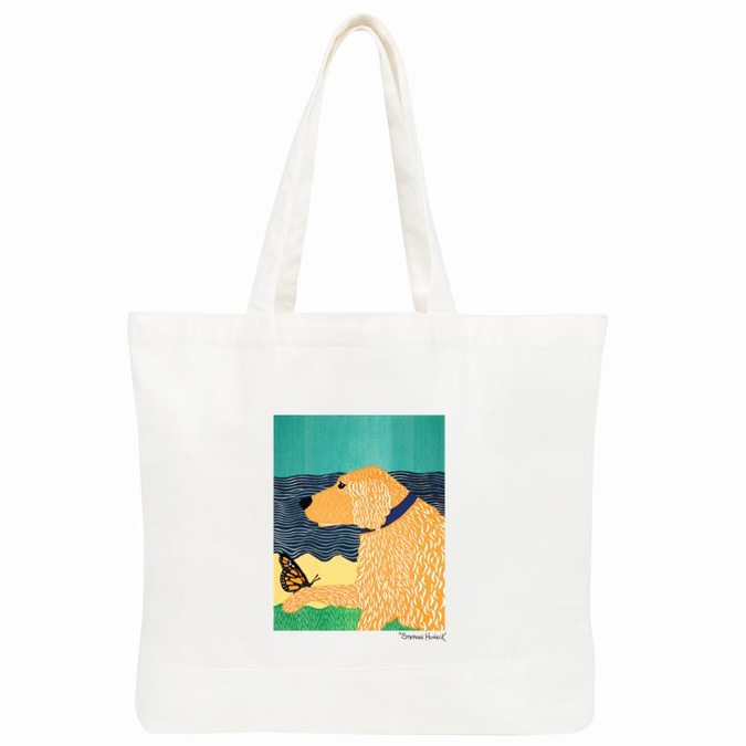 Butterfly Golden Tote