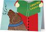 """Christmas Carols"" Card"