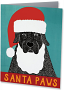 """Santa Paws"" Card"