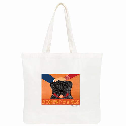 2's Company 3's a Pack - Tote Bag