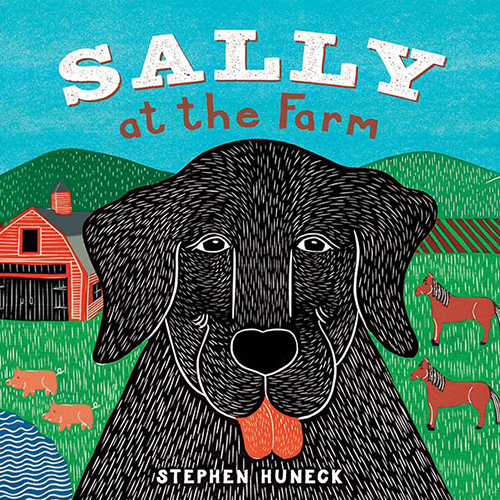 Sally at the Farm - Board Book