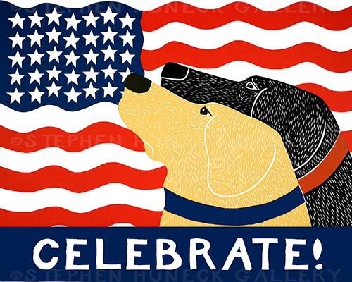 American Celebration - Giclee Print