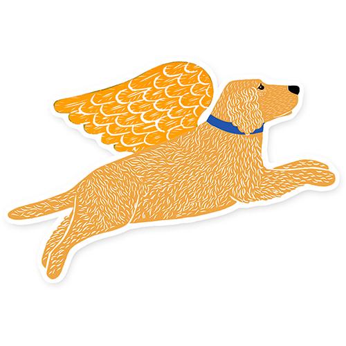 Golden Angel - Magnet