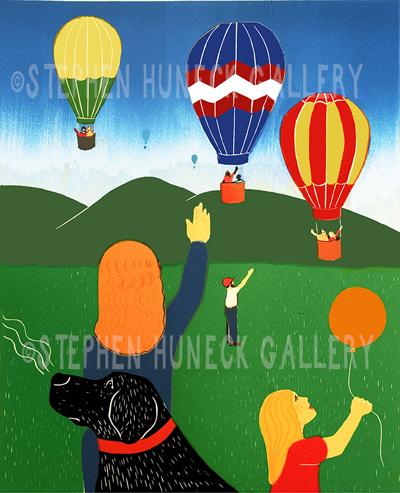 Balloon Festival - Giclee