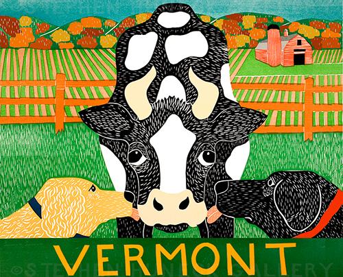 Bessie-Vermont-Autumn - Giclee Print