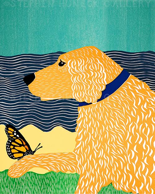 Butterfly-Golden - Giclee Print