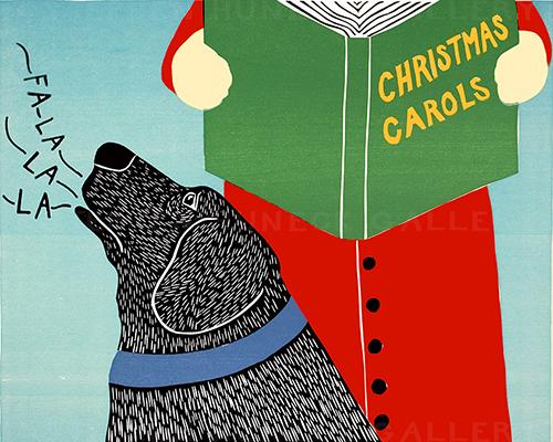 Christmas Carols - Giclee Print