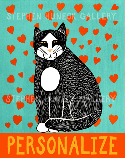 Pure Love-Good Kitty - Customizable Giclee