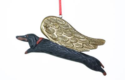 Dachshund - Angel Ornament