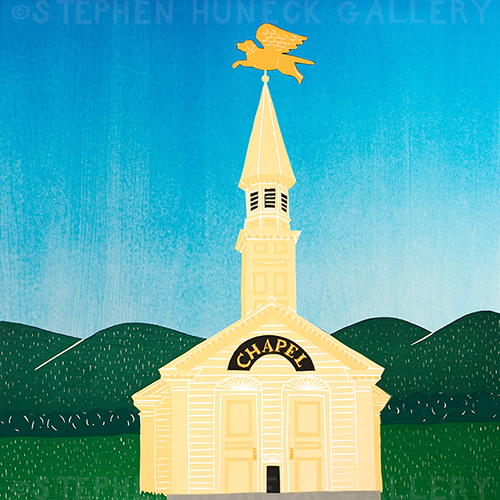 Dog Chapel-Day - Giclee Print