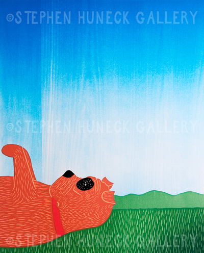 Day Dreaming-Bulldog - Giclee