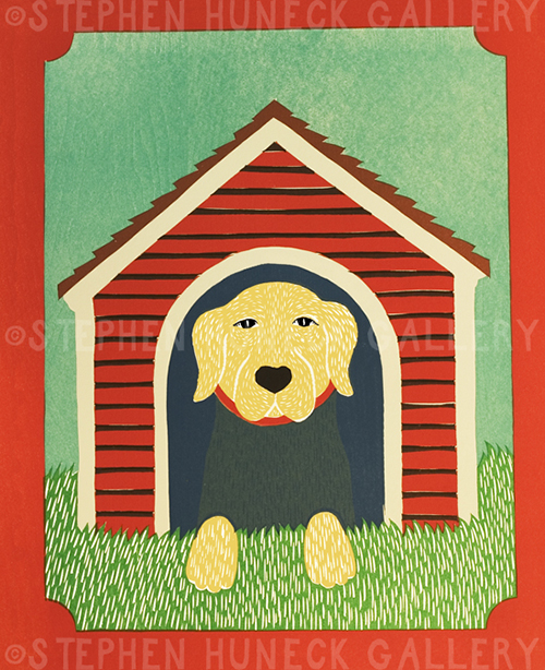 In the Dog House - Giclee Print