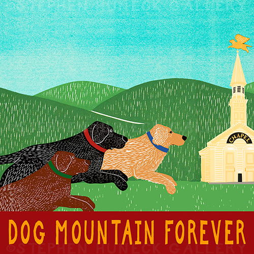 Dog Mountain Forever - Giclee Print