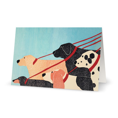 Dog Walker - Card