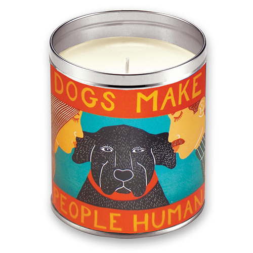 Dogs Make People Human - Candle