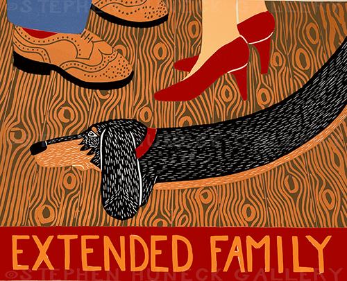 Extended Family - Giclee Print