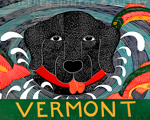 Fish Are Jumping-Vermont - Giclee Print