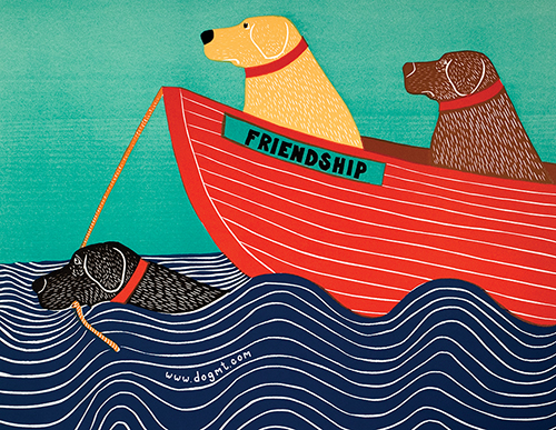 Friendship Postcard Pack