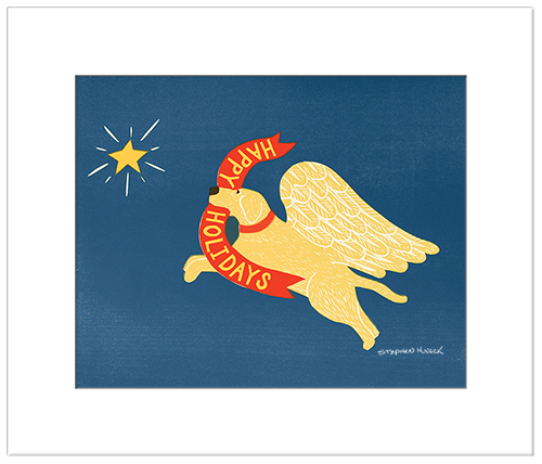 Happy Holidays - Transparent Giclee