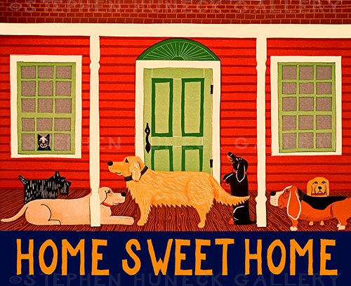 Home Sweet Home II - Giclee Print