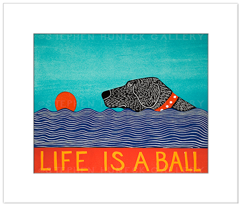 Life is a Ball (Color Choice) - Transparent Giclee