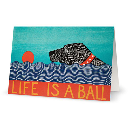 Life is a Ball - Card