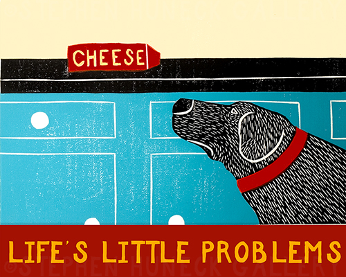 Life's Little Problems - Giclee Print