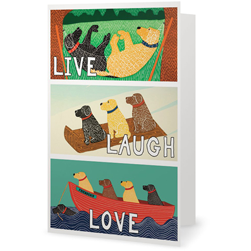 Live, Laugh, Love - Giclee