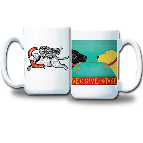 Love is Give and Take Mug