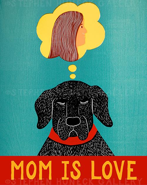 Mom is Love - Giclee Print