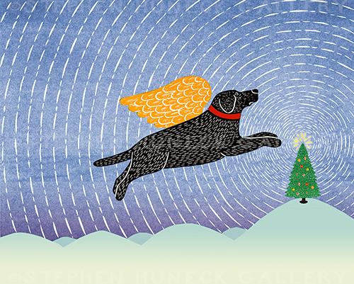 Winter Peace Tree - Giclee Print