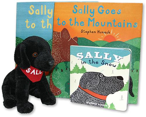 """Sally"" Plush Stuffed Lab"