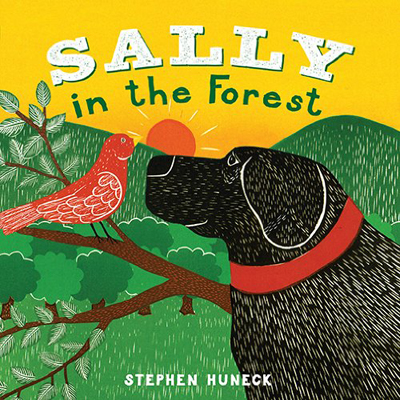 Sally in the Forest - Board Book