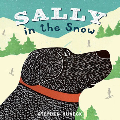 Sally in the Snow - Board Book