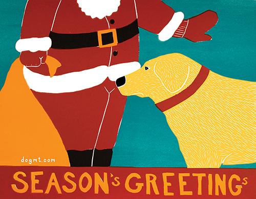 Season's Greetings - 10 Flat Card Set