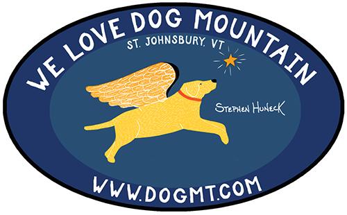 We Love Dog Mountain - Bumper Sticker