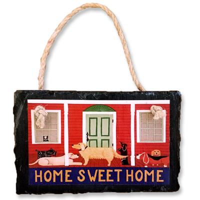 Home Sweet Home - Slate Wall Plaque