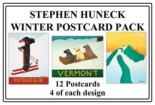 Winter Postcard Pack