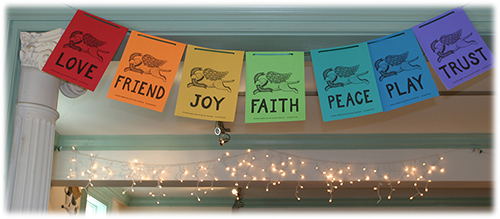 Extra Large Paper Prayer Flags