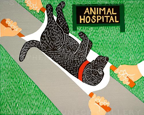 Animal Hospital - Giclee Print
