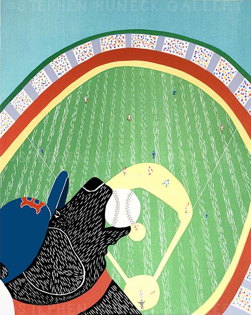 Ball Park Champs 2007 - Giclee Print