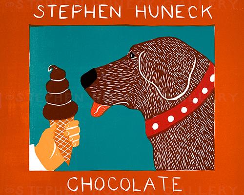 Chocolate - Medium Woodcut