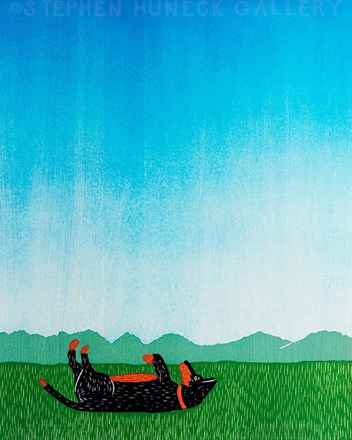 Day Dreaming-Shepherd - Giclee Print