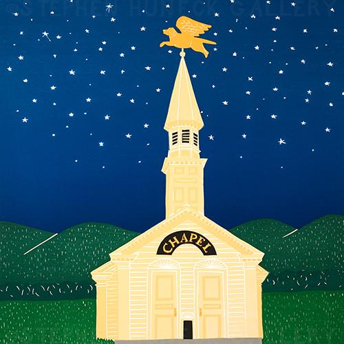 Dog Chapel - Giclee Print