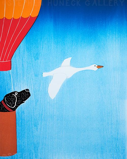 Fly Like a Bird - Giclee Print